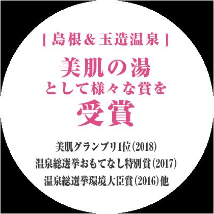 温泉総選挙2017 うる肌部門1位の湯